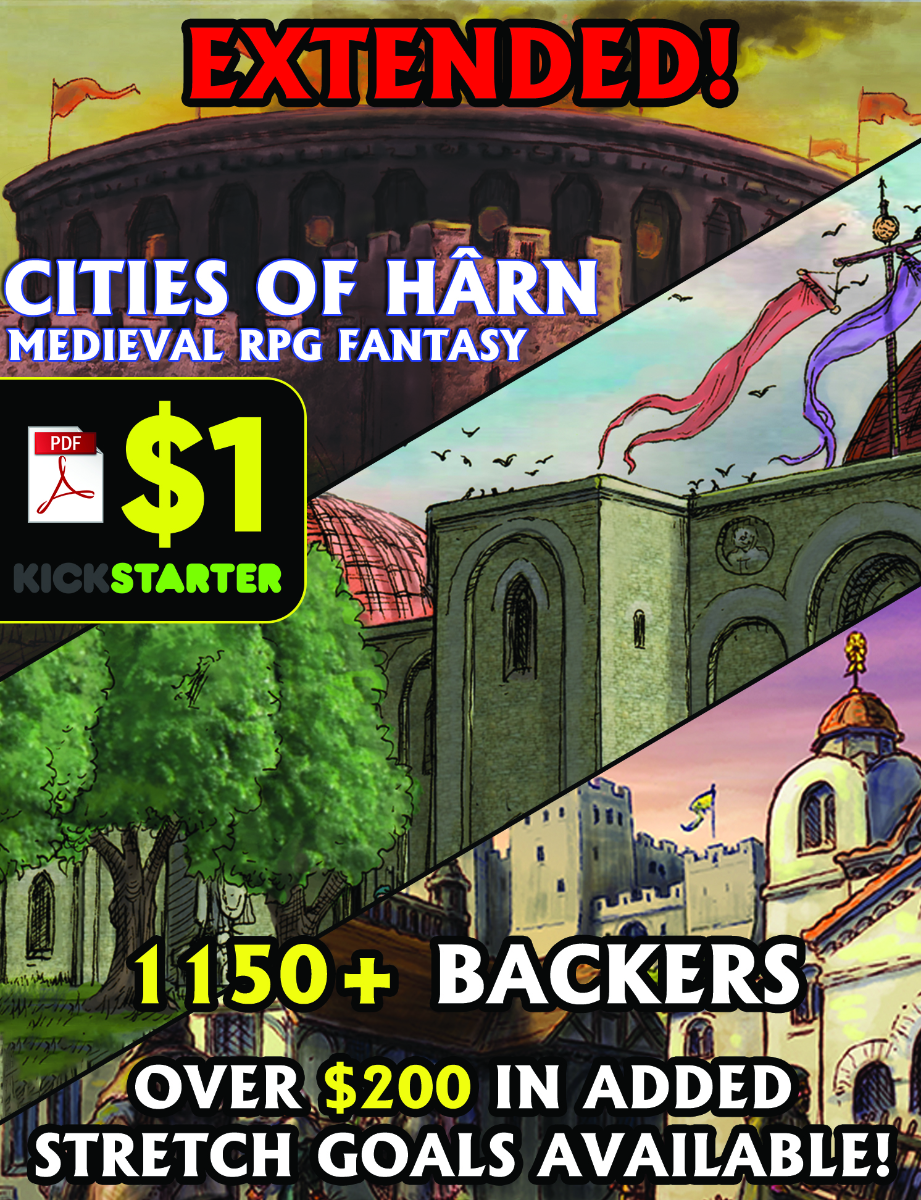 Cities of Harn