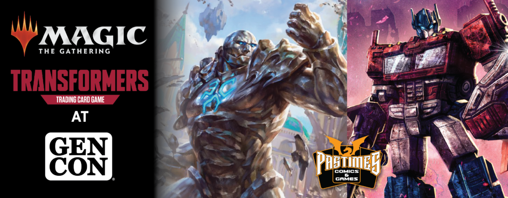 Magic: The Gathering and Transformers TCG