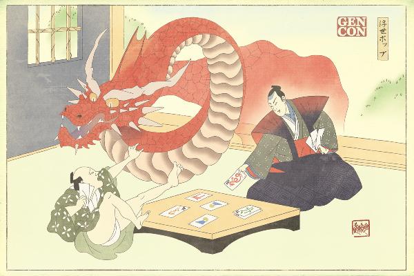Ukiyo-pop Art Print