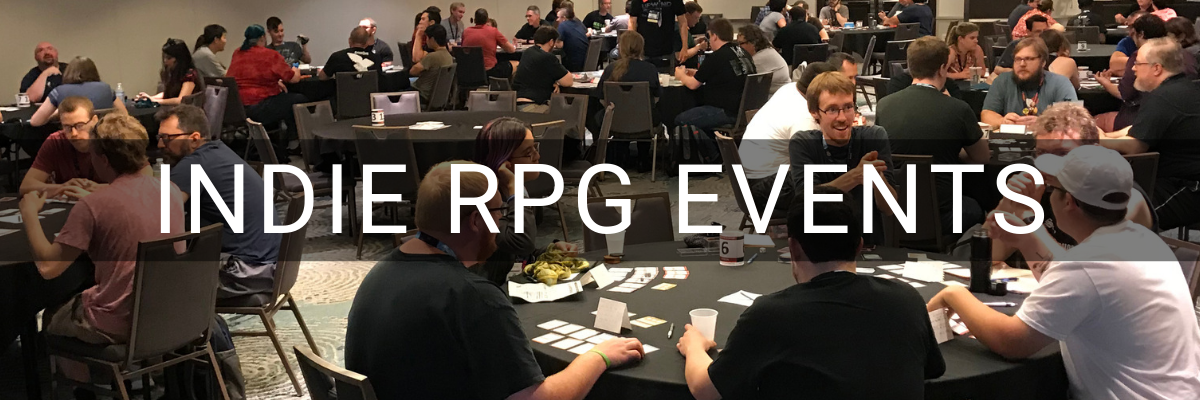 Indie RPG Events at Gen Con