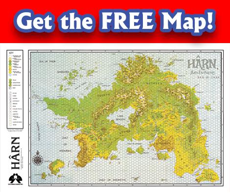 Harnworld Map