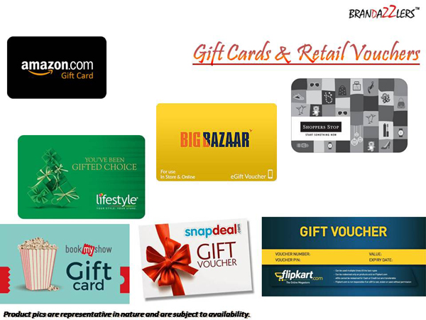 Gift Cards & Retail Vouchers