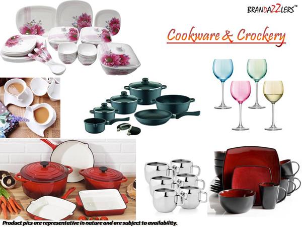 Cookware & Crockery as Corporate diwali gifts ideas