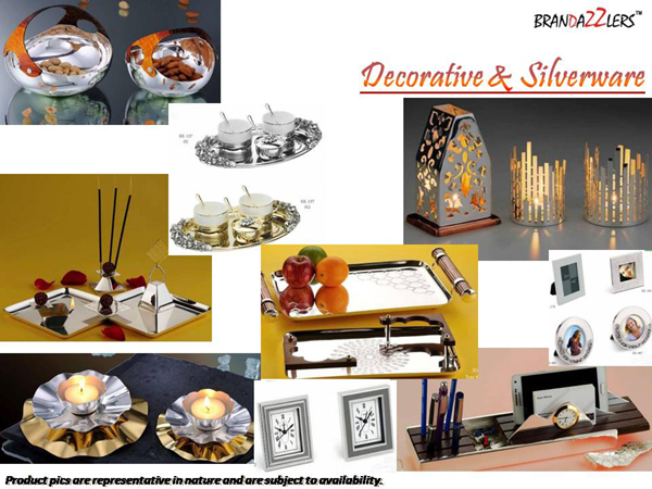 Decorative & Silverware as Corporate diwali gifts ideas