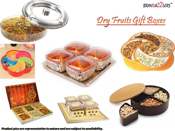 Dry Fruits Gifts Boxes as Corporate diwali gifts ideas