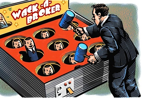 Brokered leads are often crap - like whack a mole