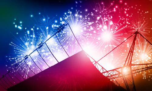 Fireworks at Kempton