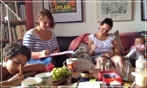Writing mums