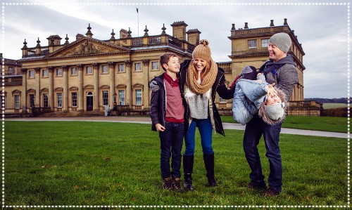 Family at Harewood House