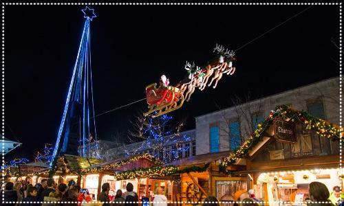 flying santa southampton