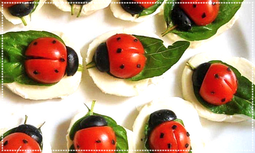 ladybird snack