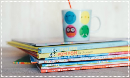 story time at Octavo Book Cafe