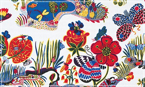 Detail of a Josef Frank design