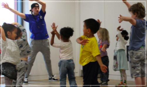 Toddler Street Dance class