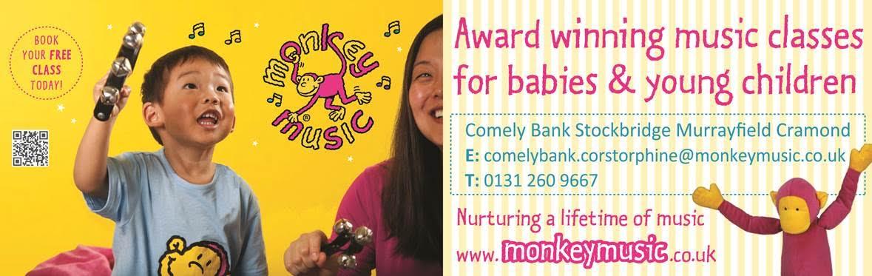 Monkey Music advert