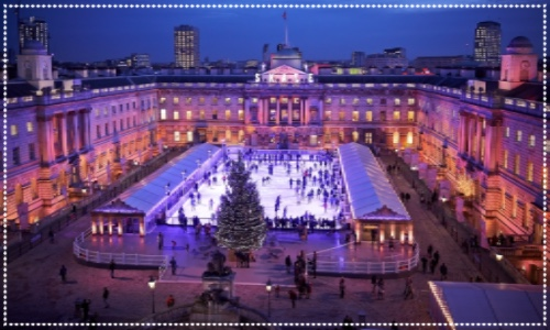 Somerset House ice-skating