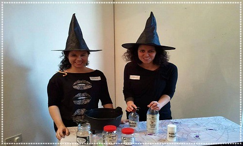 hallowe'en witches