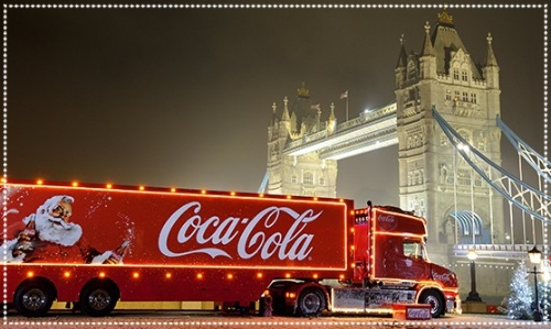 Coca cola truck tour
