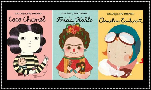 Three book covers from Little People, BIG DREAMS series