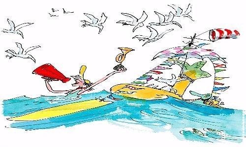 surf cartoon