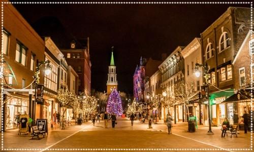 Christmas Street Lights