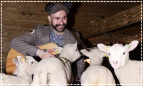 singing to lambs