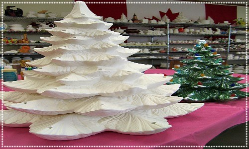 ceramic christmas trees
