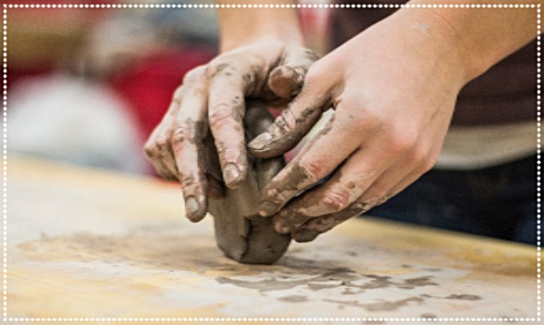 Create a clay portrait