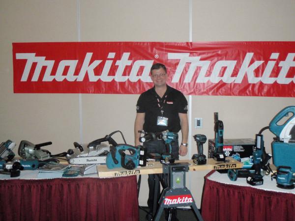 Brad Beaudreau - Makita - at 2015 Conference