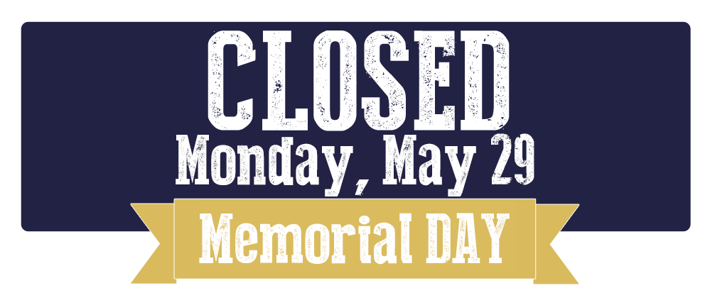 District Closed Monday, May 29 for Memorial Day