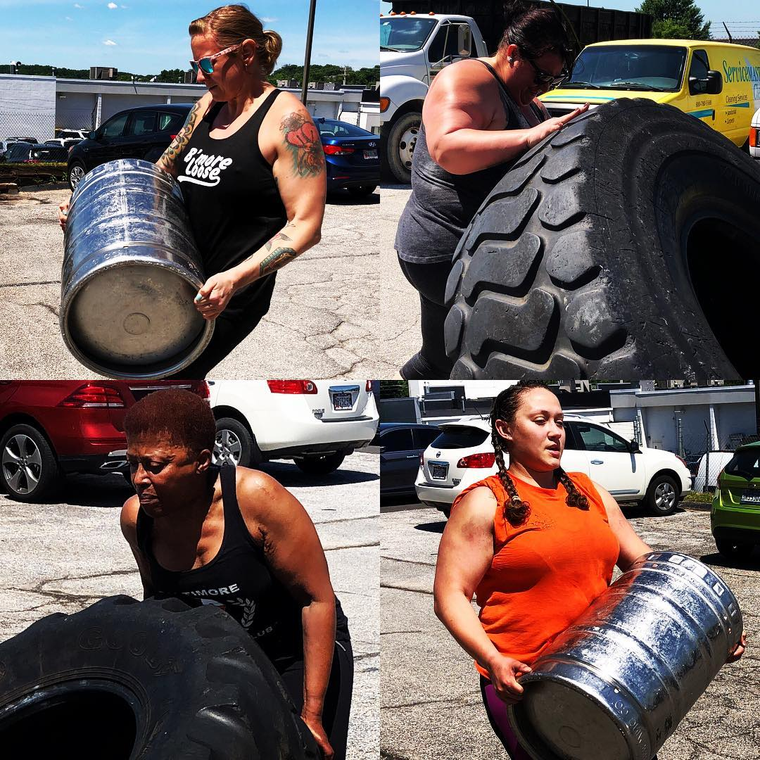 Strongwoman Saturday at Baltimore Kettlebell Club