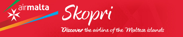 Skopri: Discover the airline of the Maltese Islands