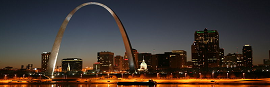 image of missouri arch in st louis