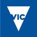 Vic gov logo blue