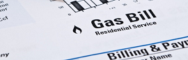 image of gas bill
