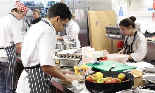 Bermondsey Community Kitchen Students
