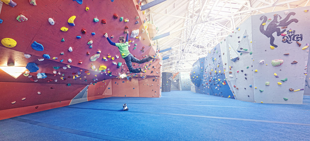 The Arch Climbing Wall Building One +
