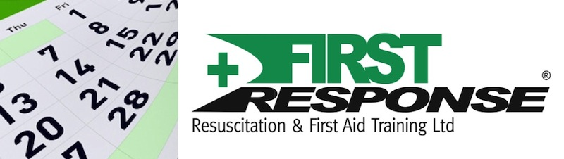 First Response Course Dates