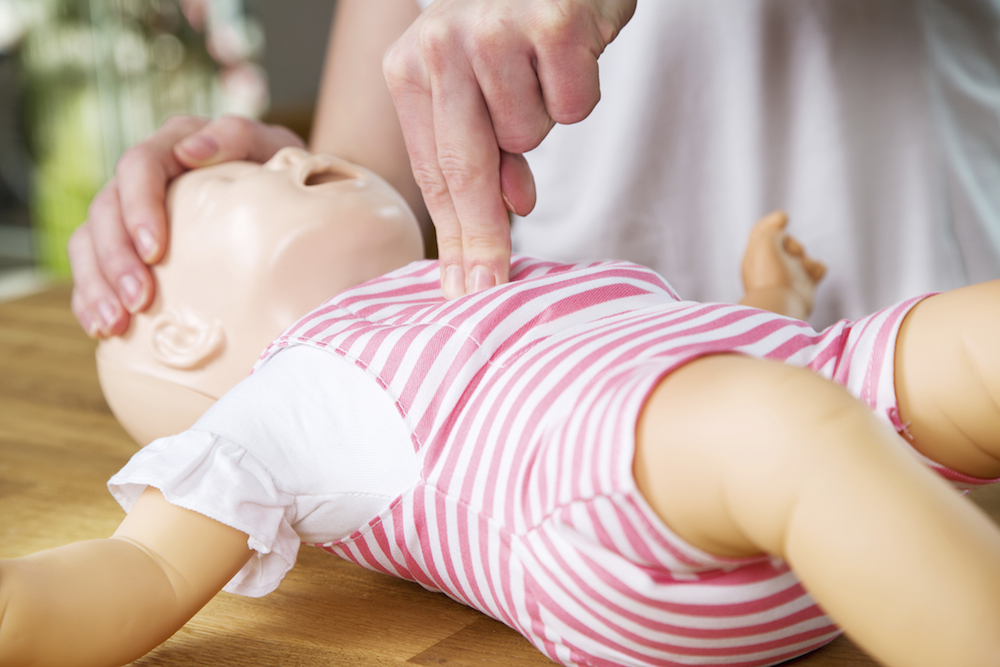First Response Baby First Aid Training Course