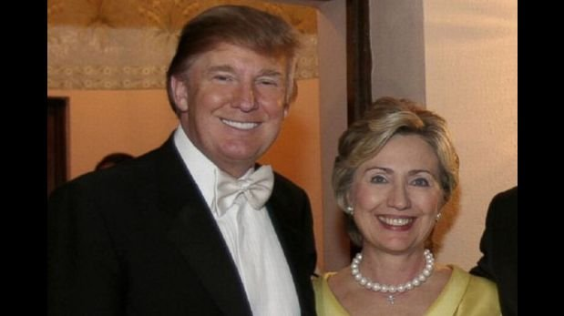 Donald Trump, Hillary Clinton,