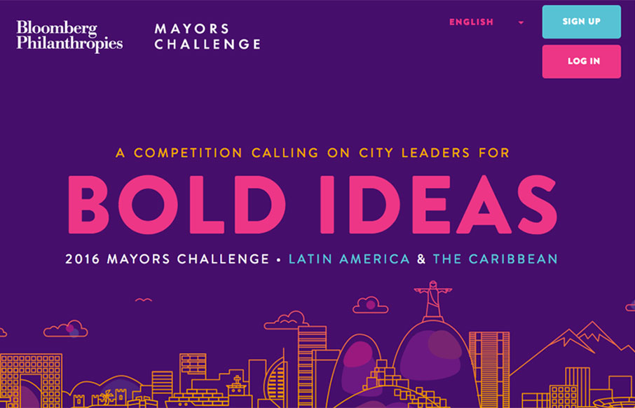 Mayor's Challenge Bloomberg