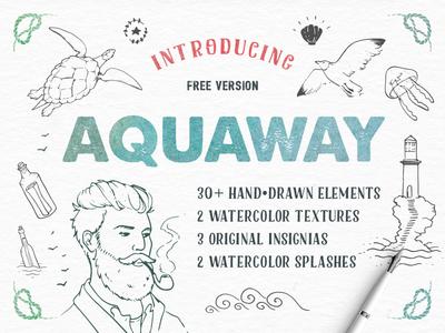 Freebie-AquaWay-Free-Vector-Pack