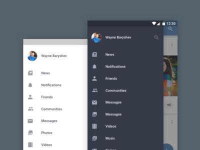 Android-Custom-Sidebar