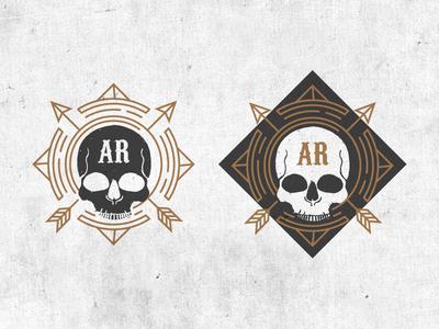Skull-Circle-Arrows