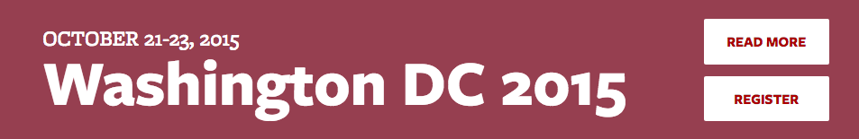 BD Conference - Washington DC 2015