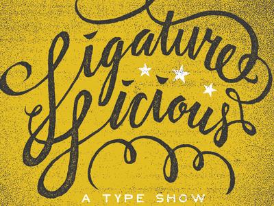 Ligature-Licious-A-Type-Show