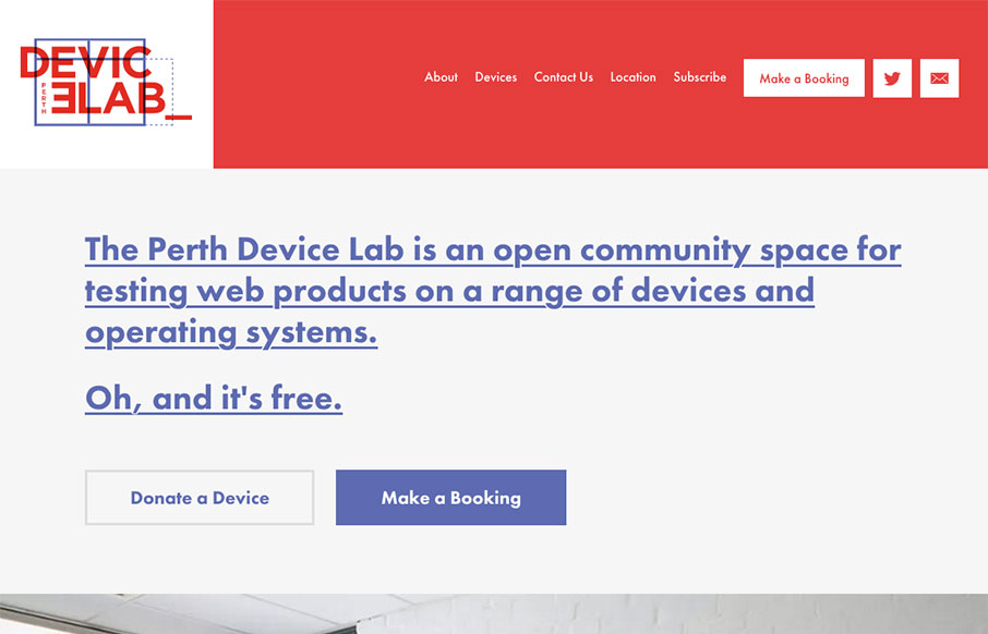 Perth Device Lab