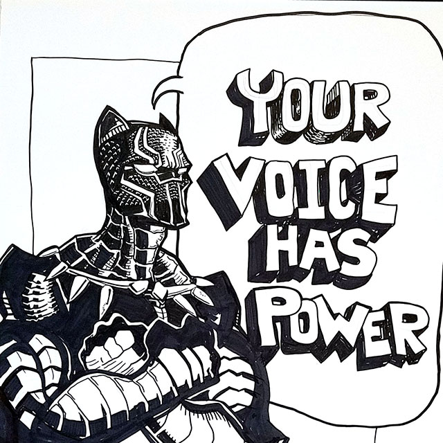 Black Panther: Your Voice Has Power