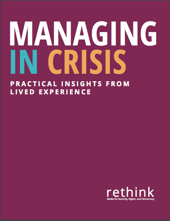 Managing in Crisis Booklet