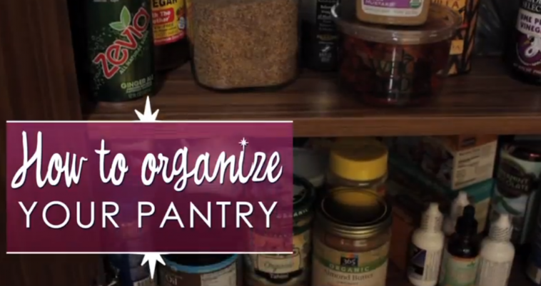 Sara Mercer - How to Organize Your Pantry